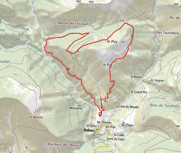 Le tour du Puy de Rabou