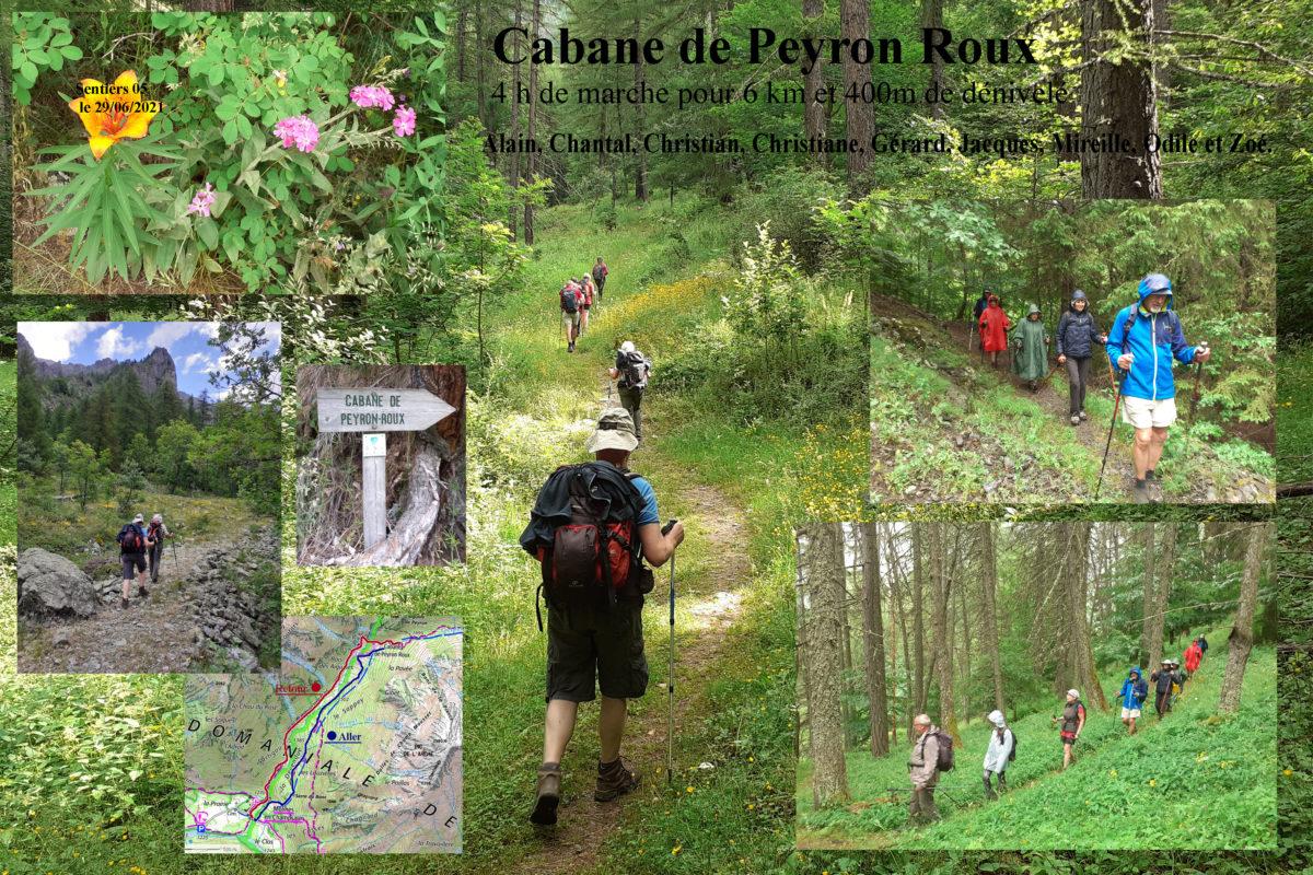 Cabane de Peyron Roux
